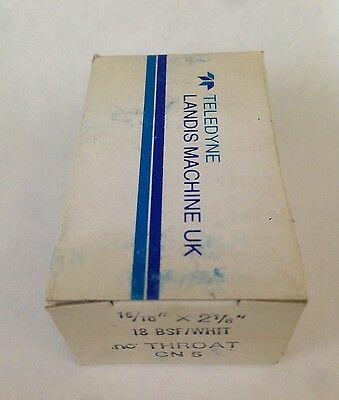 """LANDIS HSS Threading Chasers 15/16"""" X 2 1/8"""" 18BSF/WHIT NO THROAT CN5 NEW DIE"""