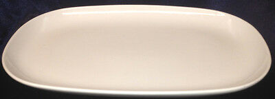"""Arzberg Germany White River 12 5/8"""" Oval Serving Platter White Hutschenreuther"""