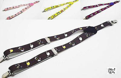 Baby Boys Girls Unisex Adjustable Suspenders Toddler Elastic Y Style Braces
