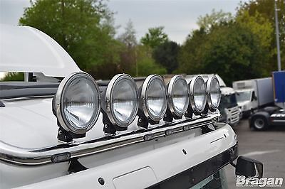 "9"" 24v Spot Fog Lights Lamp Scania Volvo  DAF Driving Truck Lorry 4x4 Van x 6"