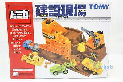 NEW Takara Tomy Tomica Working Construction Site Toys Play Set Japan for Cars