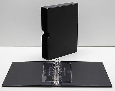 VARIO F Black 3 Ring Binder for Stamp, Currency and Other Collecting