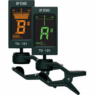 TU101 LCD Clip On Chromatic Guitar Tuner