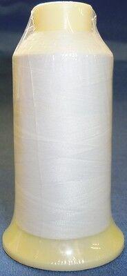 Marathon Embroidery Machine Bobbin Thread 1000m White 60/2 Fits Brother Machines