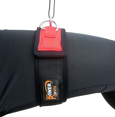 THIGH Strap For  Pulley Gym Cable Machine Attachment - With Double D-Rings POWER