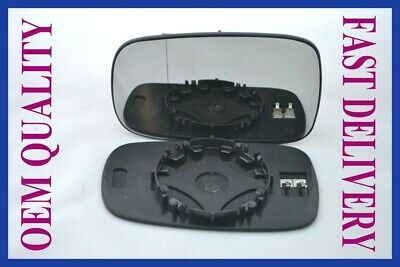 RENAULT MEGANE mk2 2002-2008 WING MIRROR GLASS WIDE ANGLE HEATED LEFT HAND SIDE