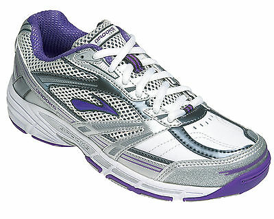 Brooks Net-Intercept Netball Shoe (Leather) (968) + Free Delivery