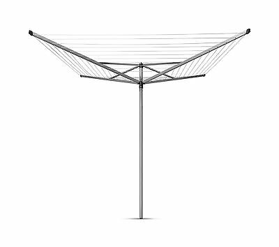 Brabantia Outdoor Top Spinner Rotary Airer 4 Arm Washing Line 60M