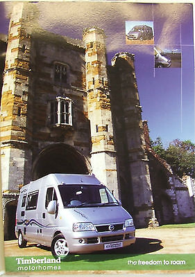 Timberland Motorhome Starlight Odyssey Freedom Voyager Fold Out Style 2004