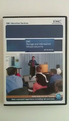 EMC Storage and Information Infrastructure V4 - Video Instructor-Led Training
