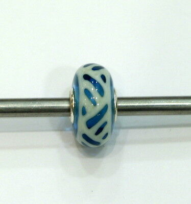 Trollbeads original  Authentic OOAK unici unique glass small and beautiful 3