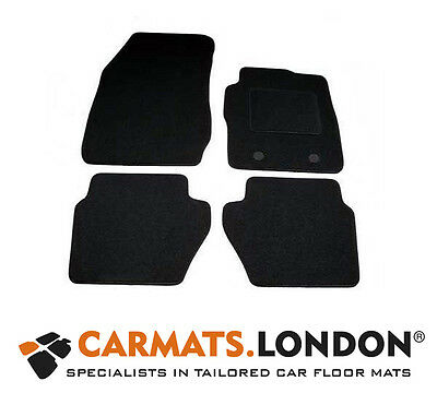 Ford Fiesta 2011 - 2017 Tailored Car Floor Mats Complete Fitted Set in Black