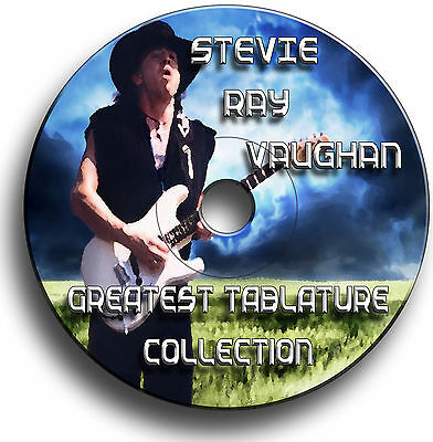 Stevie Ray Vaughan Srv Rock Guitar Tabs Tablature Song Book Software Cd Best Of