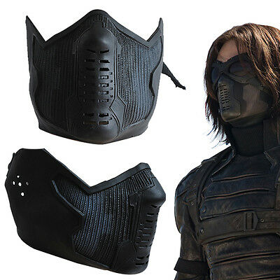 Captain America 2 Winter Soldier James Buchanan/Bucky Barnes Cosplay Latex Mask