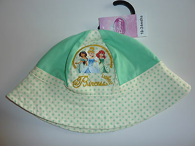 DISNEY Really Cute Little Girls PRINCESS Fisherman Hat NWT