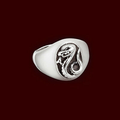 Anello Ring Harry Potter Draco Malfoy Cosplay Slytherin Serpeverde Voldemort #1