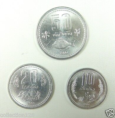 Tonga coins set of 5 pieces 2002-2005 UNC