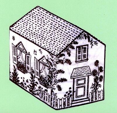 Vintage Sewing PATTERN 692 House with Embroidery designs for Toaster Cover 8 in