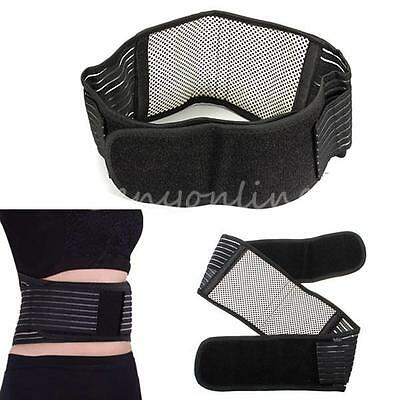 Infrared Magnetic Lumbar Brace Belt Back Support Double Pull Strap Lower Pain