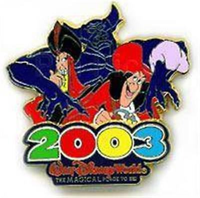 CHERNABOG Hook JAFAR VILLAINS 2003 WDW THE MAGICAL PLACE TO BE LE DISNEY PIN