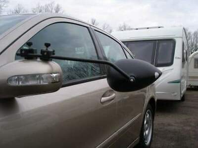 2 x Milenco Aero 3 Extra Wide Caravan Towing Mirrors