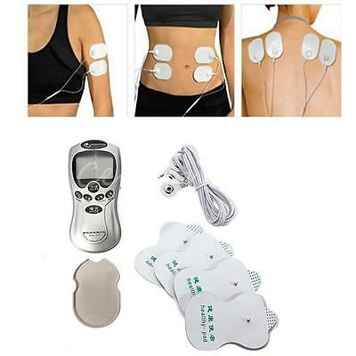 HOT!Full Body Pulse Muscle Massager Slimming Relax Massage Electric Slim 4 Pads