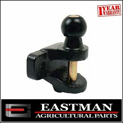 Tractor Double Duty Hitch Towball And Pin 50MM - Farm Trailer - Dual Hitch