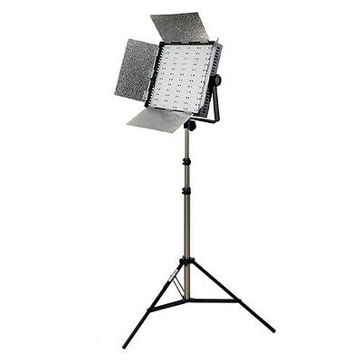 NANGUANG LED-Fotostudio- Beleuchtungs-Set DOMINO 600 HS Studioset mit Stativ