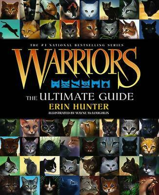 Warriors: The Ultimate Guide by Erin L. Hunter Hardcover Book (English)