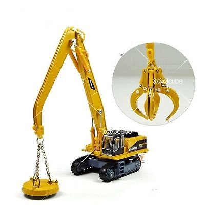1:87 Grab & Magnet Attachment Crane Construction Equipment Diecast Model Truck