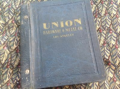 Union Hardware & Metal Co Catalog No. 38 Supply Stanley Griswold Marx 3984 pages