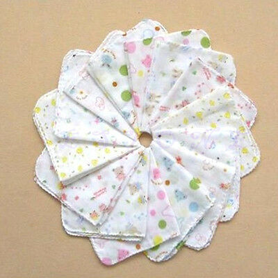 Baby Cotton Handkerchief Gauze Nursing Towel Clean Infants Feeding Towel