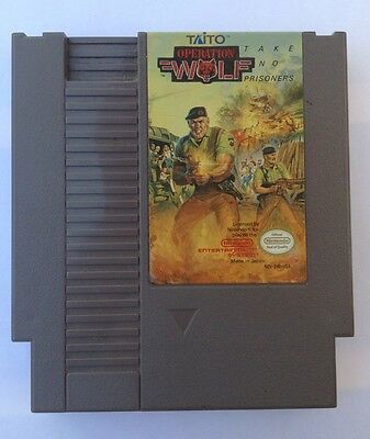 Operation Wolf  (NES, 1989) Cartridge Only