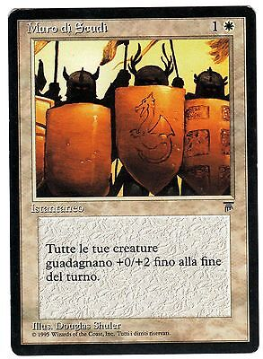 Muro di Scudi - Shield Wall carte Magic Leggende (ITALIAN LEGENDS CARD) VG
