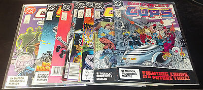 COPS RUN 1-10(9.0-9.2)(VF/NM TO NM-)10 ISSUES-DC