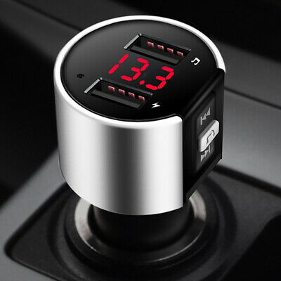 Auto Car FM Transmitter Radio Adapter 3.5mm for iPhone6 5s 5c MP3 4+ Car Charger