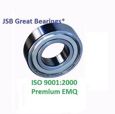 (Qty.2) 6202-ZZ Premium 6202 2Z shield bearing 6202 ball bearings 6202 ZZ ABEC3