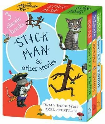 Stick Man and Other Stories by Julia Donaldson Hardcover Book