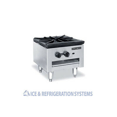 American Range Commercial Natural Or Propane Gas  Stock Pot Stove  Spsh-18
