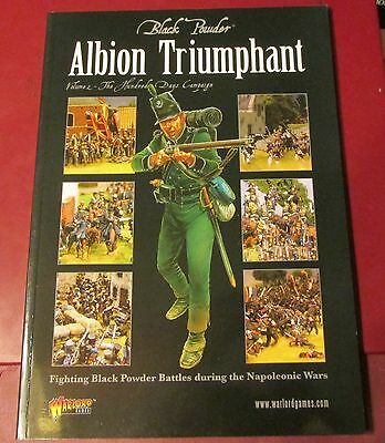 Black Powder Napoleonic Wars Albion Triumphant Volume #2 Hundred Days Campaign