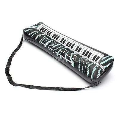 """24"""" Inflatable Keyboard Piano Musical Instrument Fun Holiday Party Music Toy"""
