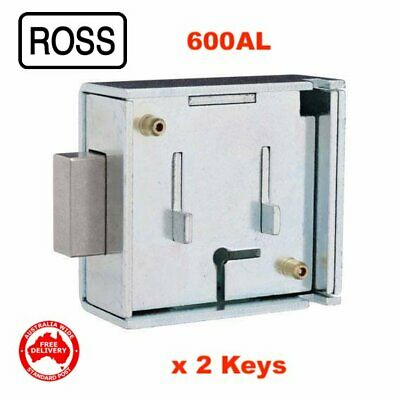 ROSS 6 Lever Safe Lock 600AL-2 Keys-Free Post In Australia! 08952660