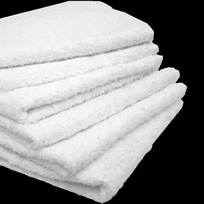 7# Box Cotton Terry Cloth Cleaning Towels Shop Rags 12X12 Heavy Duty Commercial