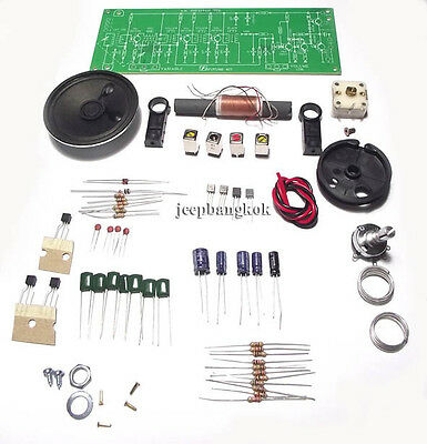AM Tuner Radio Receiver Experimental Board DIY KIT Education Electronic Project