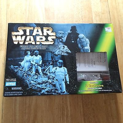 EXCELLENT CONDITION 1998 STAR WARS ESCAPE THE DEATH STAR ACTION FIGURES GAME