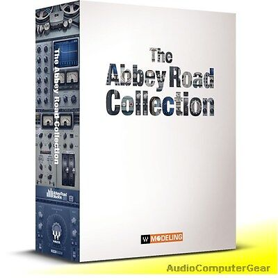 Waves ABBEY ROAD COLLECTION Audio Software Effects Plug-in Bundle NEW