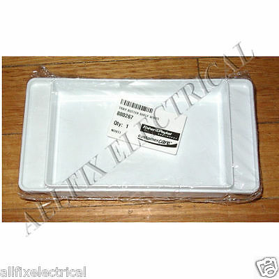 Fisher & Paykel White Plastic Butter Dish - Part # FP880267, 880267
