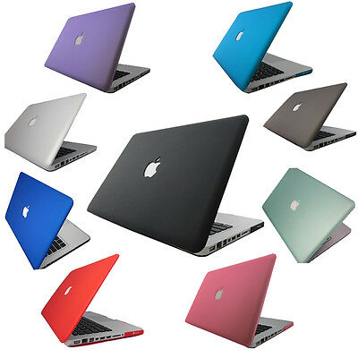 """New Rubberized Hard Case Cover For Macbook PRO Air 13""""&15'' Laptop Shell"""