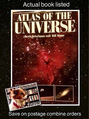 Atlas Of The Universe K Krisciunas & B Yenne 1991 Crescent Books Large Hardcover