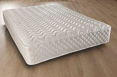 4Ft6 Double Memory Foam Mattress Hypo Allergenic